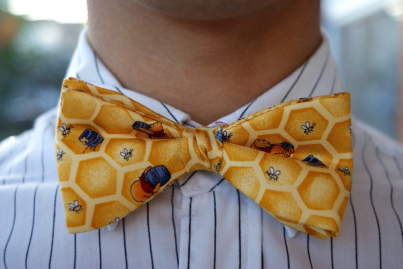 Winnie the Pooh bow tie