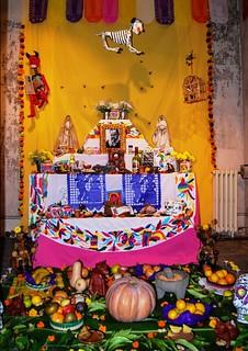 Altar de Muertos dedicado al escritor Juan Rulfo