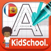 Huet kidschool mon premier alphabet en français et en espagnol