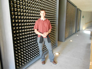 Dennis at a Porto River Valley Winery
