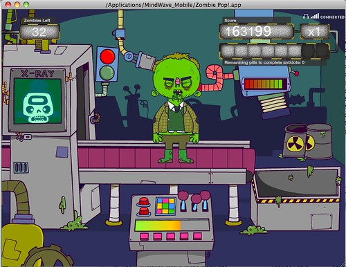 Mindwave Mobile Zombie Pop game
