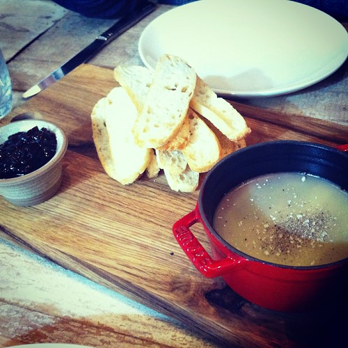 Chicken liver parfait from Cucina