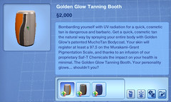 Golden Glow Tanning Booth