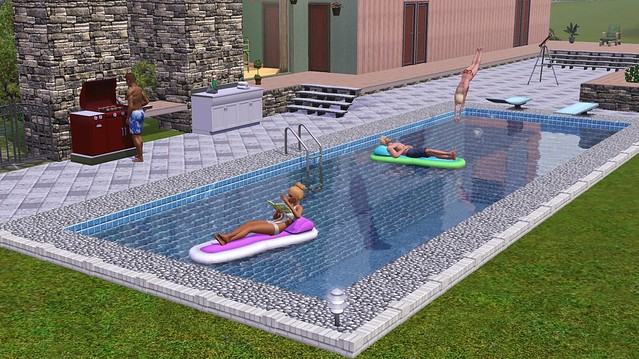 The sims 4 pools coming in november for free simsvip for Pool design sims 4
