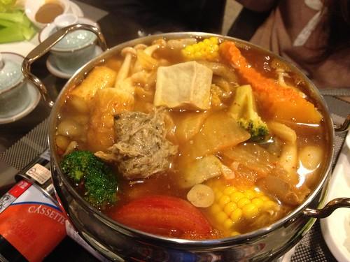 韓式泡菜鮮蔬鍋