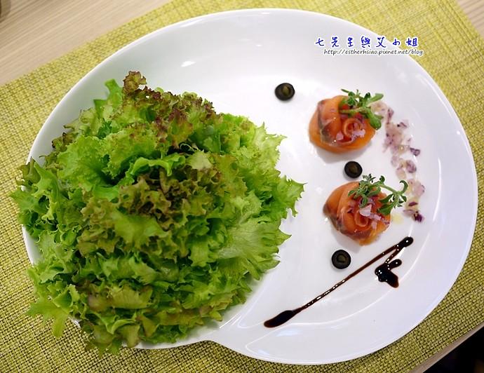 15 冰花鮭魚綜合沙拉