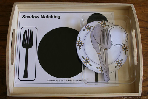 Shadow Matching Table Setting Tray