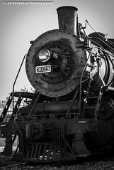 Steam Engine BW