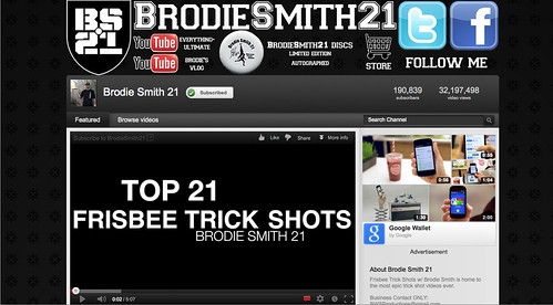 Brodie Smith YouTube Channel
