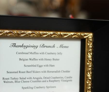 AphroChic Thanksgiving Brunch