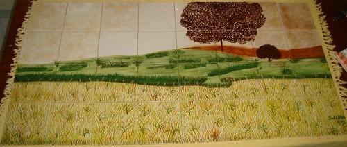 Pôr do sol alentejano by Galeria de Pinturas