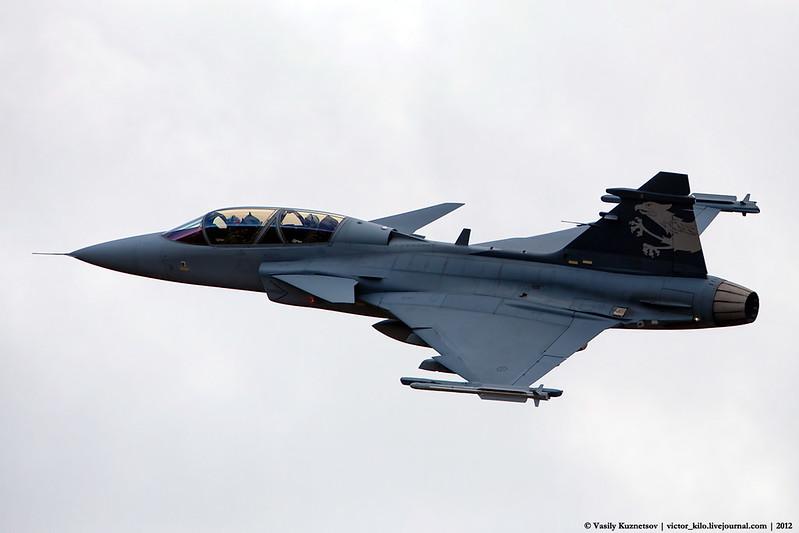 Saab Grippen E/F at AXALP-2012