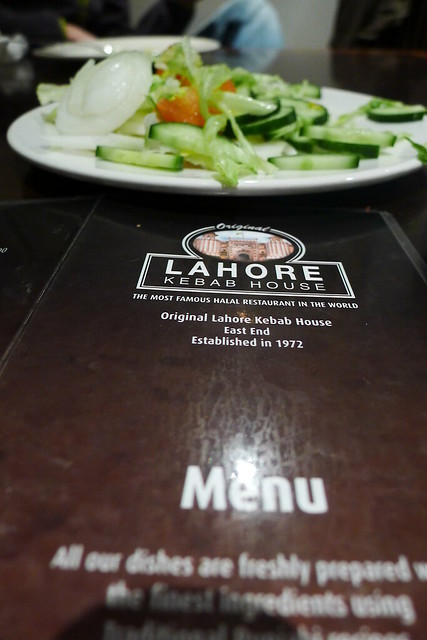 Stepping out in London: Yummy curry at Lahore Kebab House