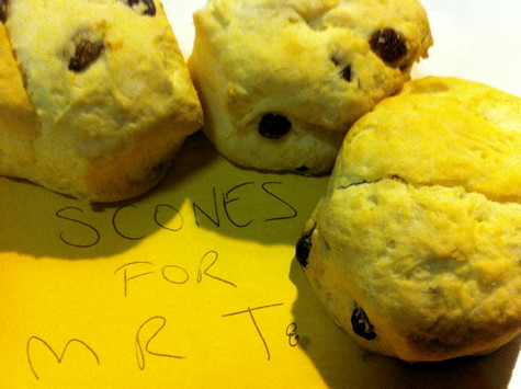 Scones from Dan Cross