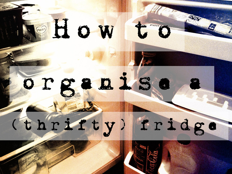 How to organise a fridge