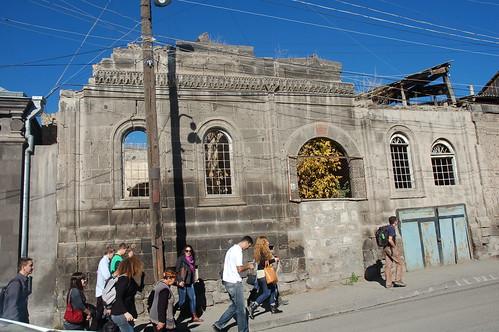 Навчальний візит у Вірменію (місто після землетрусу)