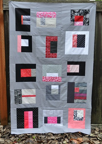 september believe circle quilt top