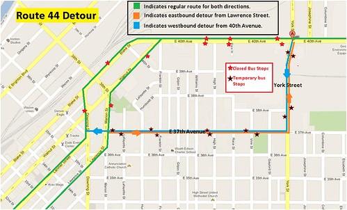 Route 44 Detour