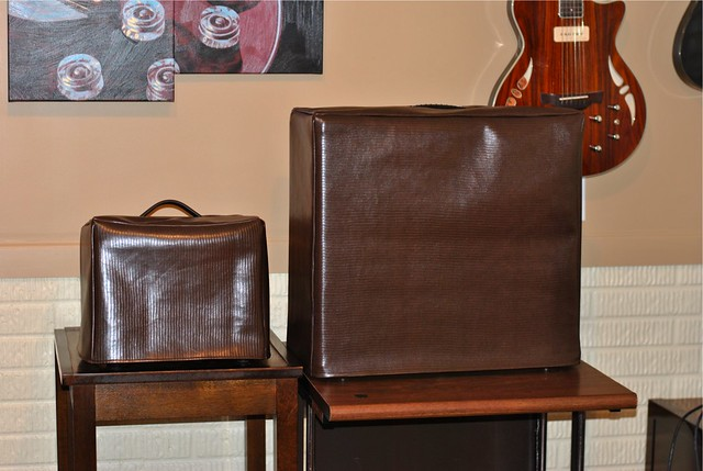 Amp Covers: Sewing for Dad