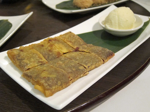 Min Jiang Sichuan Pancake with Cornish Vanilla Ice Cream