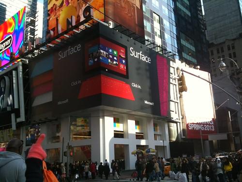 Times Square Microsoft Store