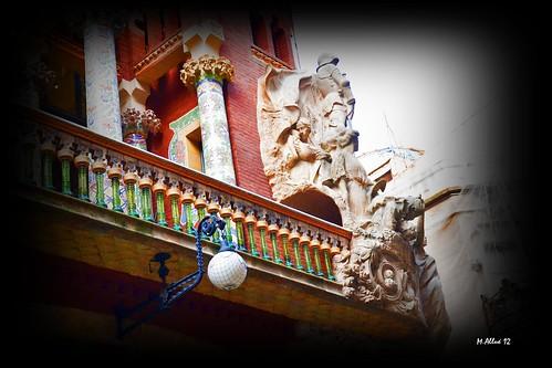 Palau de la Música by Miguel Allué Aguilar