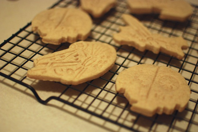 vegan Star Wars sugar cookies