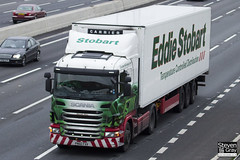 Scania G400 4x2 Tractor - PN60 FXV - Hannah Dilys - Green & Red - 2010 - Eddie Stobart - M1 J10 Luton - Steven Gray - IMG_0285