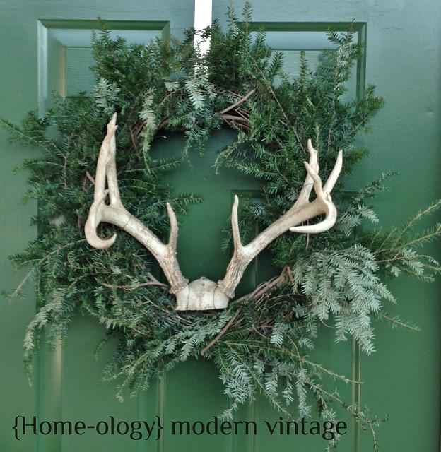 winter styling via homeologymodernvintage.com