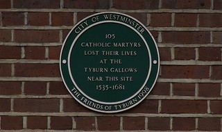 Immagine di Site of the Tyburn Tree. london westminster catholic martyrs tyburn reformation tyburntree tyburnhill