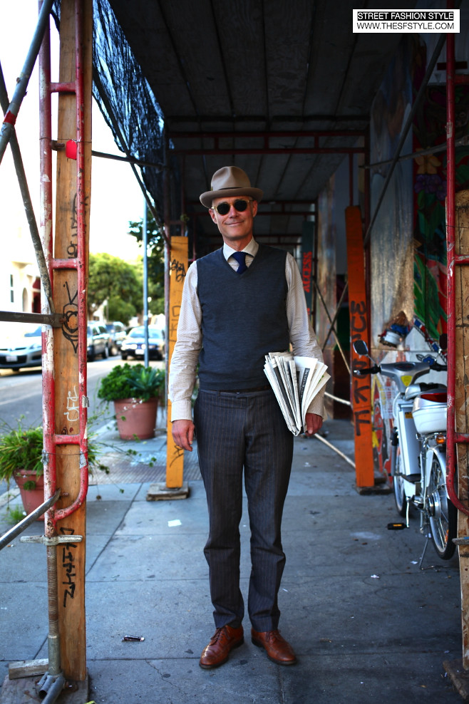 fedora, man morsel monday, street fashion style, thesfstyle, san francisco fashion blog,