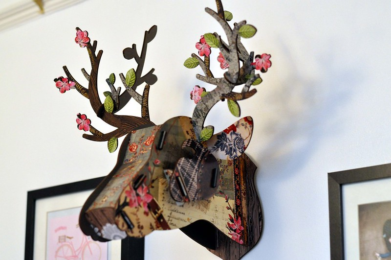 notonthehighstreet deer head 6