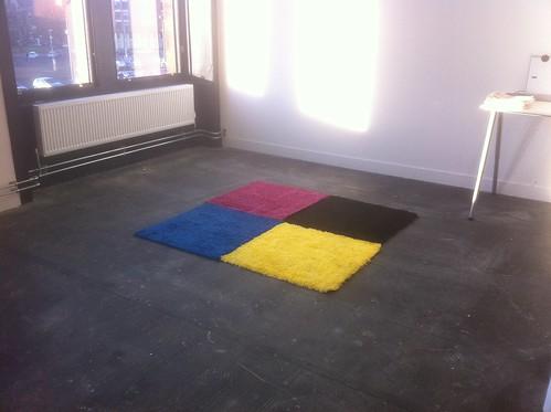 Brilliant CMYK rug