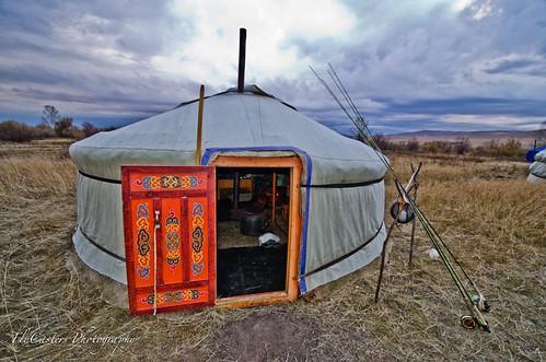 Gordon Hight in Mongolia