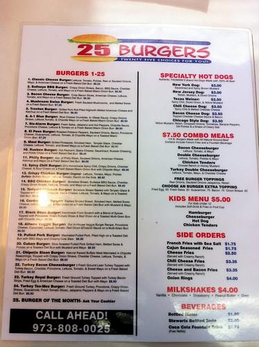 25 - menu