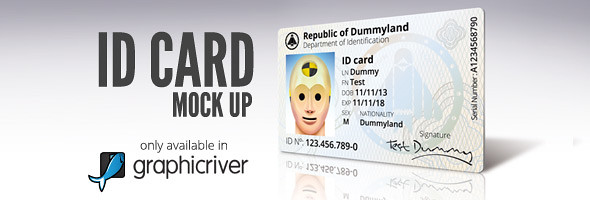 ID-CARD Mock Up