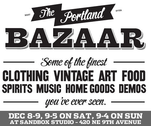 Portland Bazaar Holiday Sale