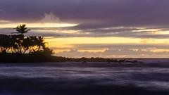 Sun rising on Maui