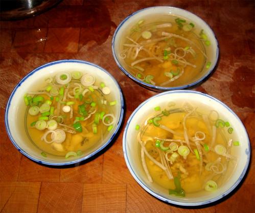 Ricetta Zuppa Giapponese.Il Mondo Di Luvi Zuppa Di Pesce Giapponese Osuimono
