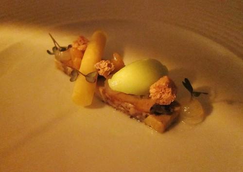 Foie Gras Quitte Walnuss Sellerie