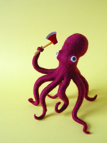 Ax Wielding Octopus