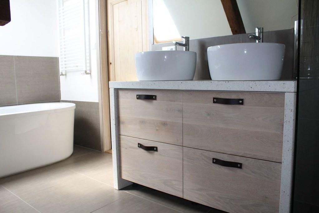 Eiken Werkblad Badkamer : Voor en nadelen materialen werkbladen boer keukens