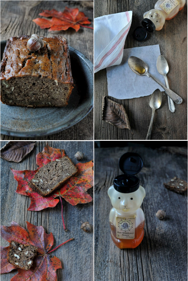 banana bread collage