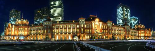 東京駅全景 Panorama of Tokyo Station