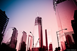 One World Trade Center (1 WTC, or Freedom Tower) in New York City...
