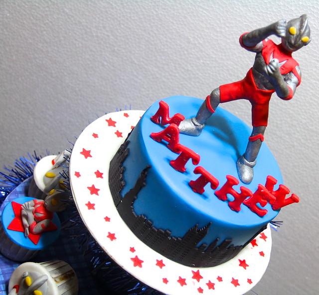 Ultraman Cake Topper