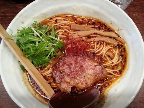 ra121130うさぎ 辛麺 大盛
