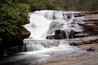 Triple Falls - middle falls