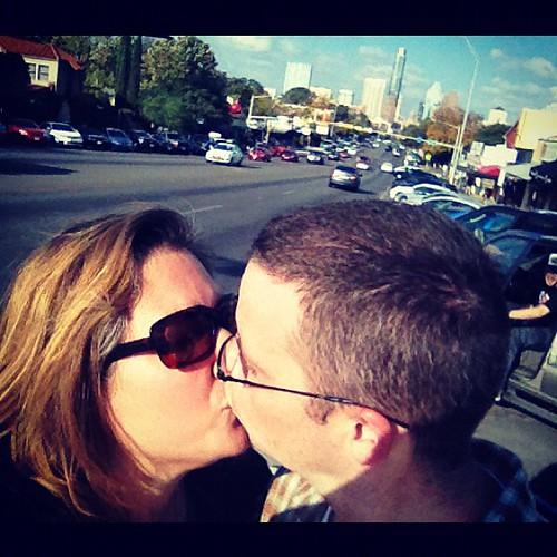 Kissy face #austin #soco