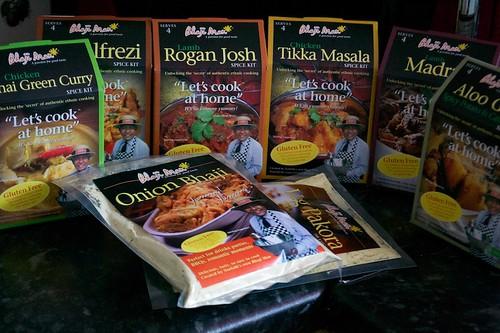 bhaji man spice kits